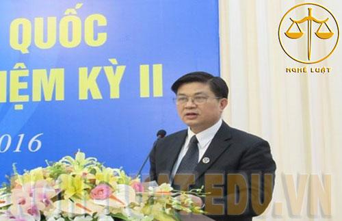 Tân Chủ tịch LĐLSVN nhiệm kỳ II Đỗ Ngọc Thịnh