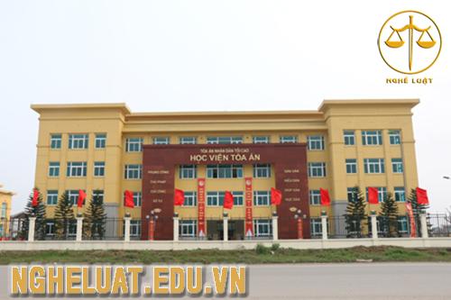 Học viện Tòa án đã chính thức tuyển sinh đại học