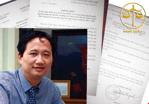 khởi tố bị can và truy nã đối với ông Trịnh Xuân Thanh