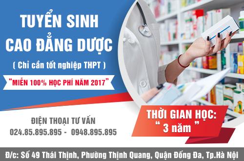 Tuyen-sinh-cao-dang-duoc-ha-noi-mien-100-hoc-phi-nam-2017-1