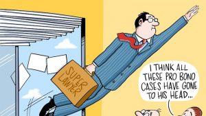 Muôn vàn thử thách khi làm việc tại công ty Luật lớn