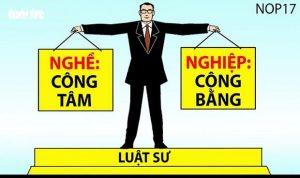 Chia sẻ của 1 luật sư về nghề nhân ngày Luật sư Việt Nam