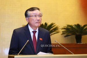 Chánh án TANDTC Nguyễn Hòa Bình