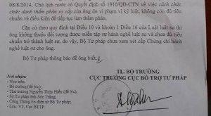 Ủy ban Kiểm tra Thị ủy Vĩnh Châu khai trừ ra khỏi Đảng
