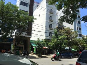 Khách sạn Hilary, nơi gia đình anh Vạn lưu trú trước khi xảy ra vụ việc