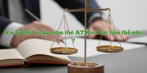 Hành vi trộm tiền qua thẻ ATM là hành vi vi phạm pháp luật