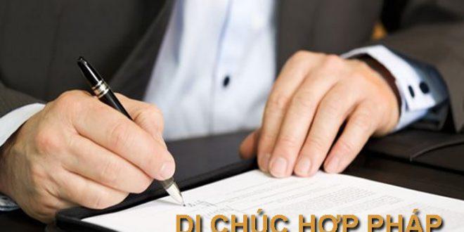 Luật sư tư vấn: Cách lập di chúc như thế nào là hợp pháp
